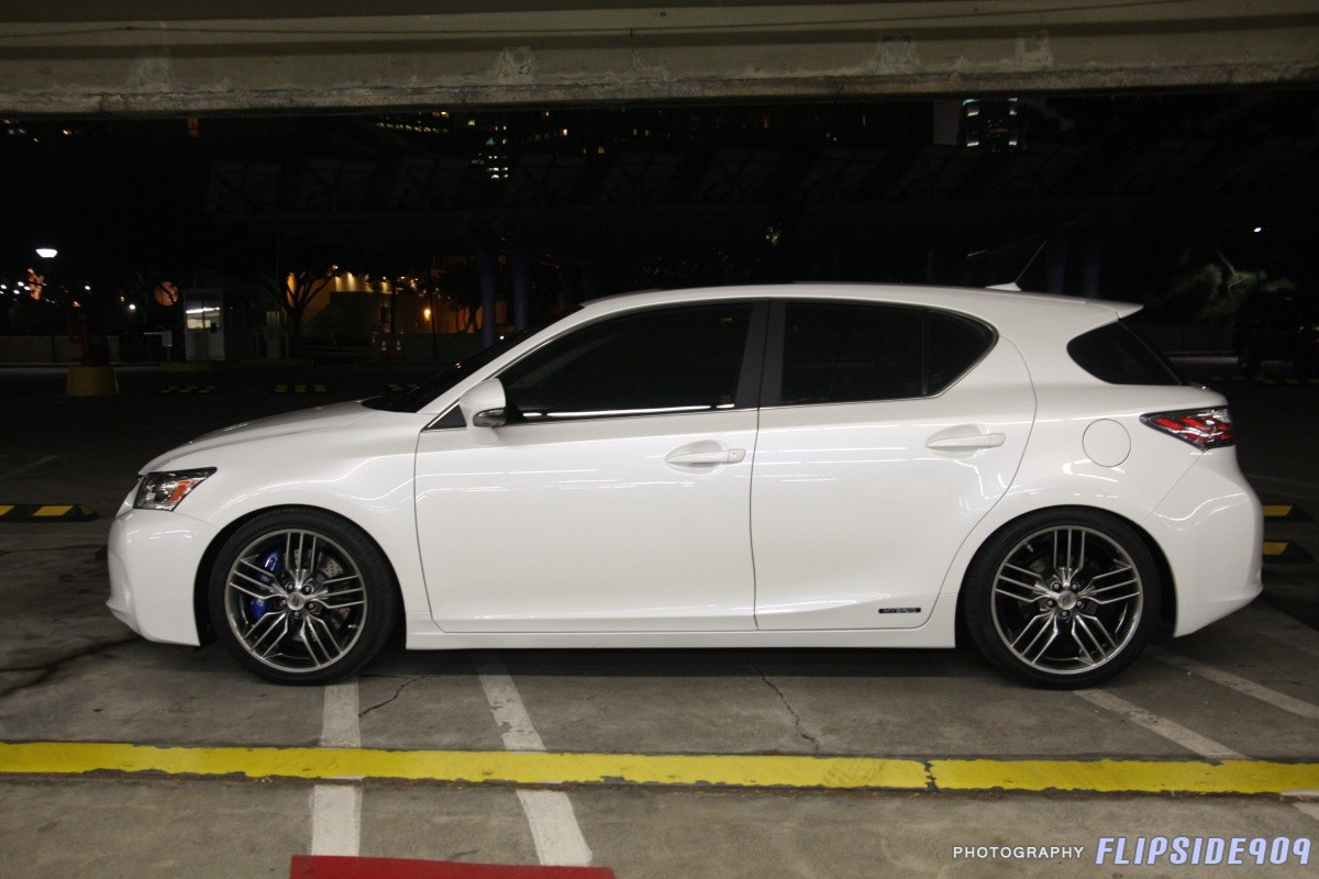 Yeah i m a huge fan of the 18 versions on the ct f sport concept lexus showed at sema a few years back