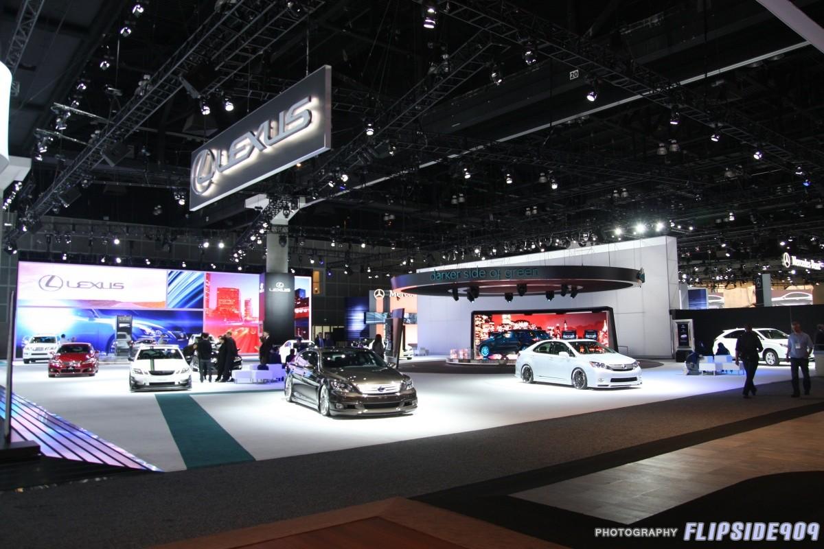 Flipsides LA Auto Show Coverage ClubLexus Lexus Forum - Lexus car show